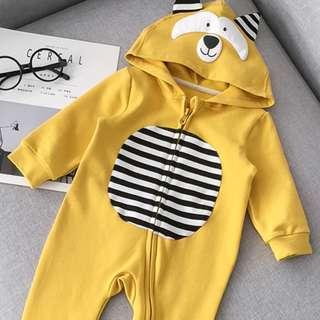 Cute Animal Baby Rompers, Toddler Pajamas, Onepiece