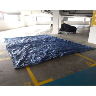 Tarpaulin 6 x 5 meters - great condition