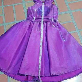 Sofia the 1st Inspired Purple Dress