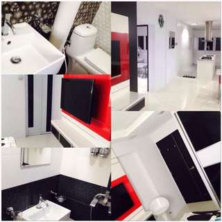 40k Reno condo style Hdb master bed room for rent.