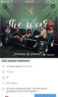 Join @weare_eri 's Giveaway !
