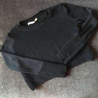 Zara knitwear crop top