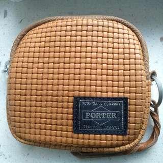 100% New Porter + Highland Crossover Wallet Coins Case 手提包 散紙包 手袋 銀包 電腦袋 (Pouch Clutch Cosmetic Bag 袋 iPhone)