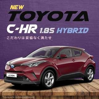 Toyota C-HR 1.8S Hybrid (LED Edition)