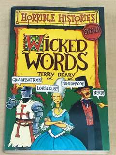 【Horrible Histories】Wicked Words