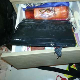 Akira dvd player PD 3238 RB