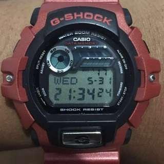 G Shock G2210 Custom Red doff