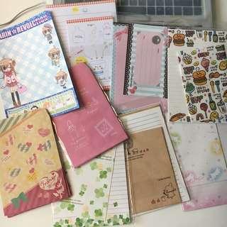 Letter paper & envelopes