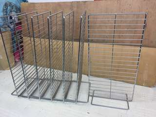 Stainless display rack