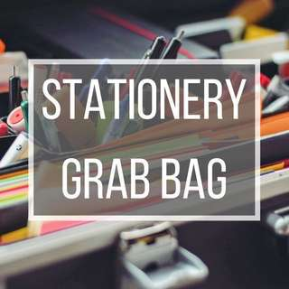 [PRICES REDUCED] Stationery Grab Bags!