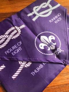 World Scout Knot Scarf 世界童軍繩結領巾