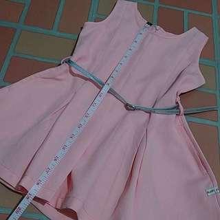 Moose Girl Peach Dress