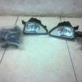 Fog lamp honda accord