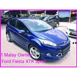 2013 Ford Fiesta 1.6 (A) XTR LIMITED EDITION SPORT