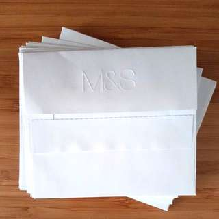 M&S adhesive Envelop x 25pcs