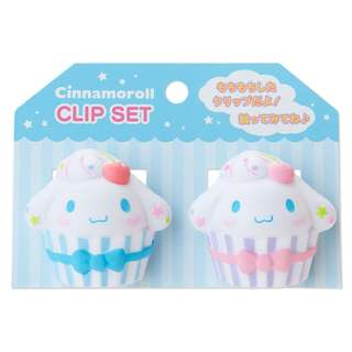 Japan Sanrio Cinnamoroll Squeeze Clip Set (sweets)