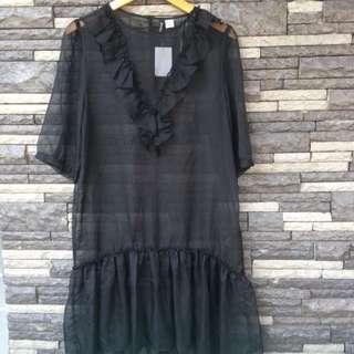 H&M Sheer Dress