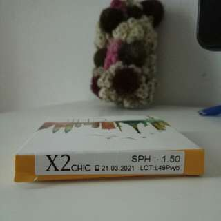 Softlens X2 Chic by Exoticon Brown ( -1.50 )
