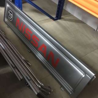 Nissan Cabstar Side Panels & Railings