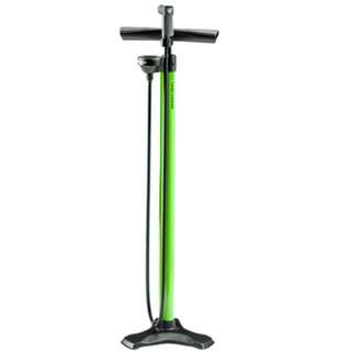 Bontrager Turbo Charger Tall Green Floor Pump