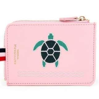 Turtle Embroidery Purse