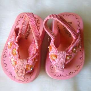 Wedge Slippers for little girl