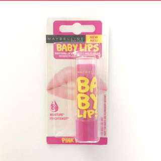 Maybelline Pink Tinted Lip Balm