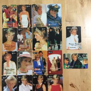 Princess Diana Phone Cards
