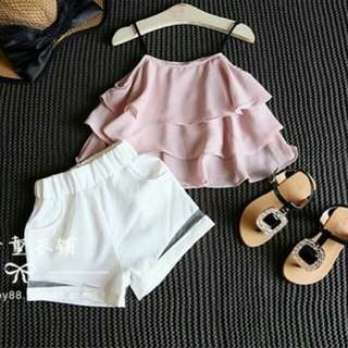 Baju anak perempuan usia 3-5 th