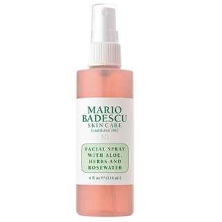10% OFF - Mario Badescu Rose Water & Cucumber Green Tea Spray
