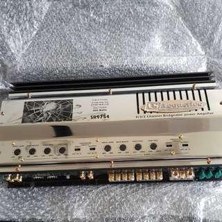 US Acoustics 4/3/2 CH Power Amp