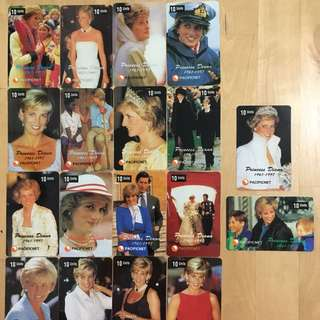 Princess Diana Phone Cards