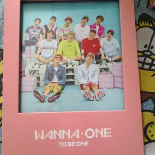 Wanna one 1x1=1(to be one) album pink ver.