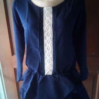 SALE jual rugi Atasan rok wanita fashion blouse new