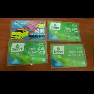 Prepaid Cards Less 20 Pesos