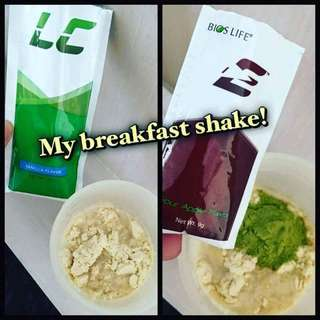 Weight loss + High Energy Breakfast Shake