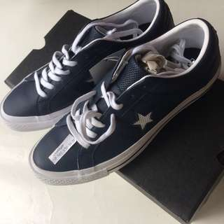 converse onestar ox leather