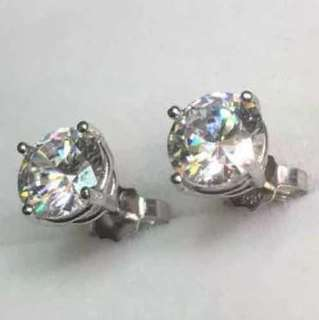 Brand New 1ct CZ Platinum layered on sterling silver .925