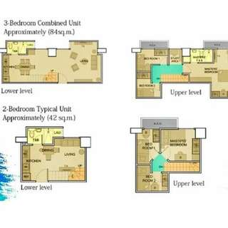 Condo Units with 3 Bedrooms
