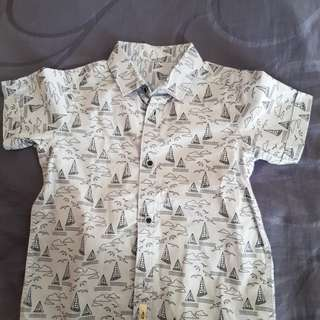 Mothercare shirt 5 yr old