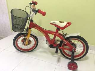 Kids bike (Only used couple of times)