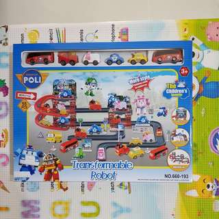 Brand New Robocar Poli Transformable Robot