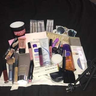 Bulk makeup & skincare