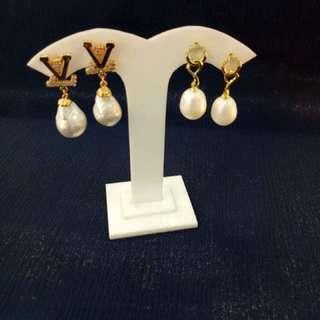 Genuine Pearls in Vintage Setting