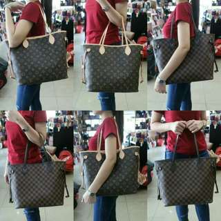 Neverfull with Paperbag + Dustbag