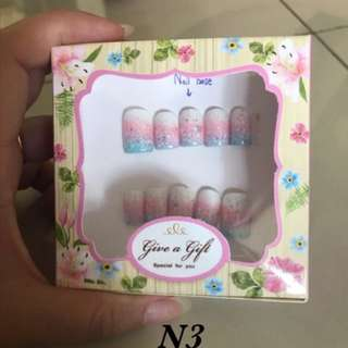 Handmade fake nails