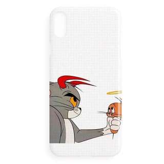 Tom and Jerry iPhone X Soft Plastic Case
