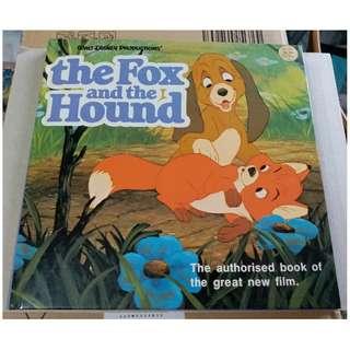 [英文 故事書 The Fox and the Hound] Walt Disney Tod Copper English Book 狐貍 與 獵狗 迪士尼 書 書藉 小朋友 孩子 益智 有益