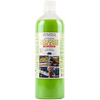 Optimum No rinse wash and wax (32oz)