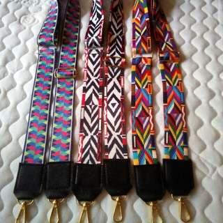 Tali Tas Strap bag rainbow tribal import